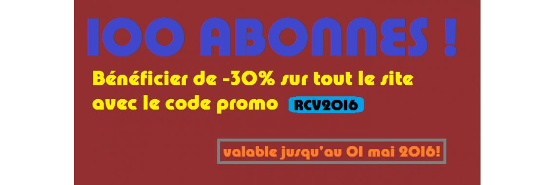 CODE PROMO RCV2016