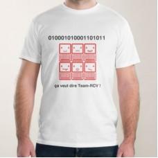 """T-shirt  """"01001010111001001"""""""